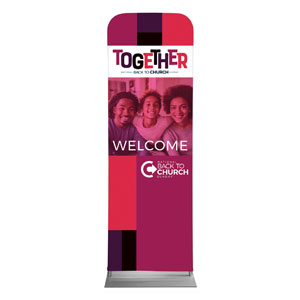 BTCS Together AFA 2 x 6 Sleeve Banner