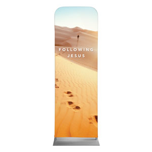 Following Jesus Sand Dunes 2 x 6 Sleeve Banner