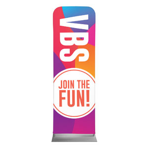 Curved Colors VBS Join the Fun 2 x 6 Sleeve Banner