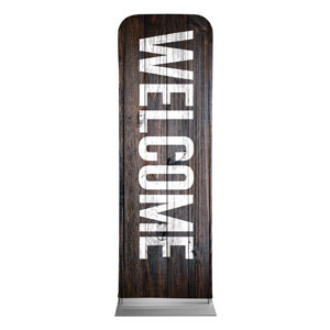 Dark Wood 2 x 6 Sleeve Banner