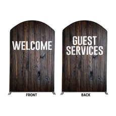 Dark Wood Welcome Guest Services