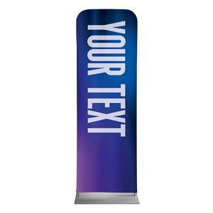 Aurora Lights Your Text Here 2 x 6 Sleeve Banner
