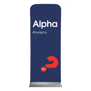 "Alpha Navy 2'7"" x 6'7"" Sleeve Banners"
