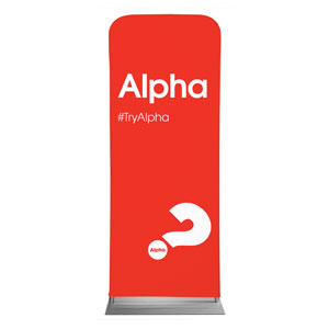 "Alpha Red 2'7"" x 6'7"" Sleeve Banners"