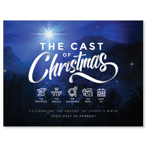 The Cast of Christmas Jumbo Banners
