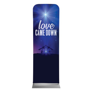 Aurora Lights Christmas 2 x 6 Sleeve Banner