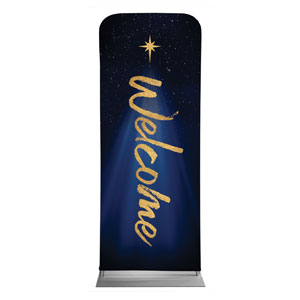 "Christmas Star Hope is Born Welcome 2'7"" x 6'7"" Sleeve Banners"