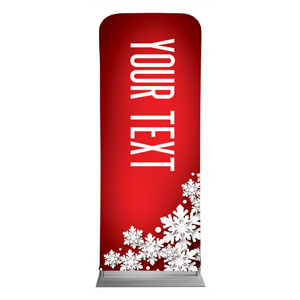 "Christmas At Red Your Text 2'7"" x 6'7"" Sleeve Banners"