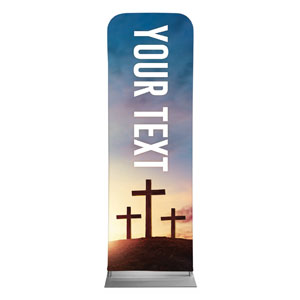 Easter Hope Outline Your Text 2 x 6 Sleeve Banner