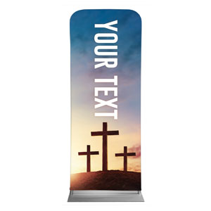"Easter Hope Outline Your Text 2'7"" x 6'7"" Sleeve Banners"
