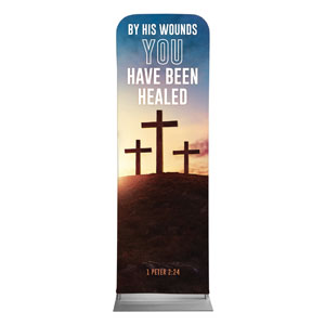 Easter Hope Outline Scripture 2 x 6 Sleeve Banner