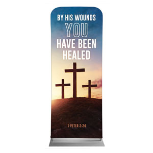 "Easter Hope Outline Scripture 2'7"" x 6'7"" Sleeve Banners"