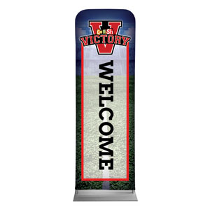 Go Fish Victory Welcome 2 x 6 Sleeve Banner