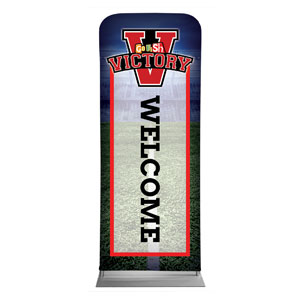 "Go Fish Victory Welcome 2'7"" x 6'7"" Sleeve Banners"