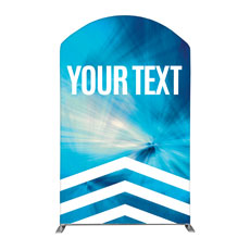 Chevron Blue Your Text