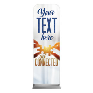 Connected Your Text 2 x 6 Sleeve Banner
