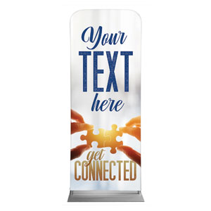 "Connected Your Text 2'7"" x 6'7"" Sleeve Banners"