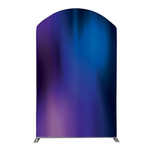 Aurora Lights Backdrop 5' x 8' Curved Top Sleeve