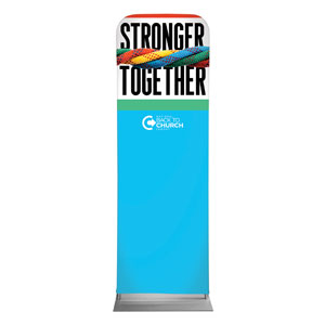 BTCS Stronger Together 2 x 6 Sleeve Banner