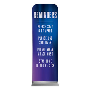 Aurora Lights Reminders 2 x 6 Sleeve Banner
