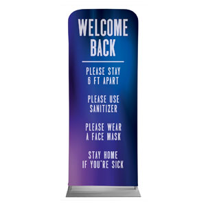 "Aurora Lights Welcome Guidelines 2'7"" x 6'7"" Sleeve Banners"