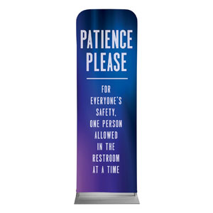 Aurora Lights Patience 2 x 6 Sleeve Banner
