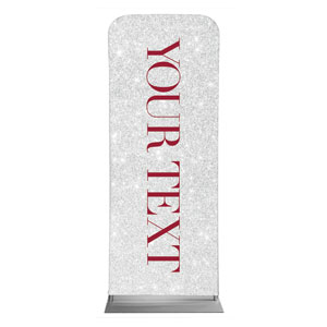 "Christmas Brings Hope Sparkle Your Text 2'7"" x 6'7"" Sleeve Banners"