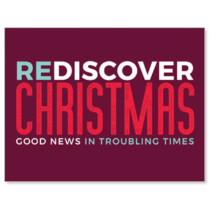 ReDiscover Christmas Advent Contemporary Jumbo Banners