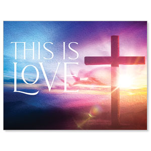 Love Easter Colors Jumbo Banners