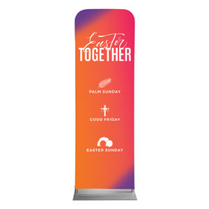 Easter Together Hues 2 x 6 Sleeve Banner