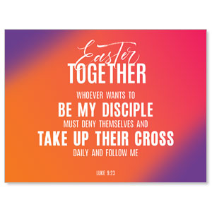 Easter Together Hues Scripture Jumbo Banners
