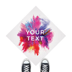 Color Burst Your Text