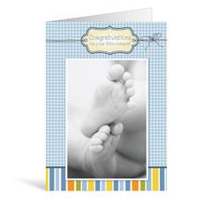 Baby Boy Greeting Card