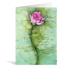 Rose Sympathy Greeting Card