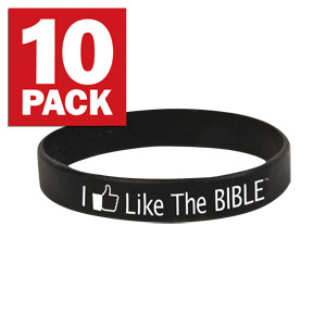 I Like The Bible Wristband 10 pack SpecialtyItems