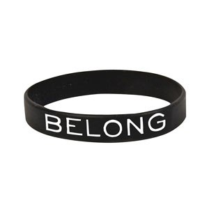 BTCS: Belong Silicone Wristband SpecialtyItems