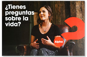 Alpha Got Questions? SPANISH Sophia Invite (pack of 100) Alpha Products