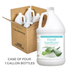 Aloe Premium Moisturizing Hand Sanitizer in 1 Gallon Containers (Case of 4)