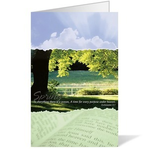 Seasons Spring Bulletins 8.5 x 11