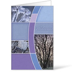 Winter Trees 8.5 x 11 Bulletins 8.5 x 11