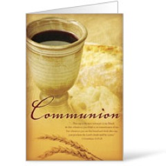 Occasions Communion Bulletin