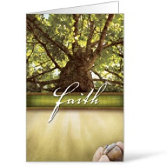 Beautiful Words Faith 8.5 x 11 Bulletins 8.5 x 11