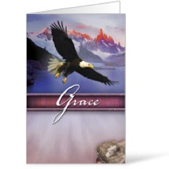 Beautiful Words Grace 8.5 x 11 Bulletins 8.5 x 11