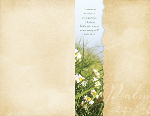 church bulletin torn paper spring 85quot x 11quot outreach