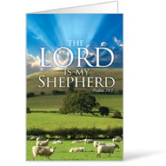 Lord My Shepherd Bulletin
