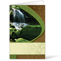 Sunrise Waterfall Bulletin