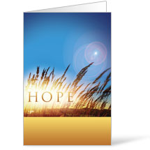 Hope for Tomorrow 8.5 x 11 Bulletins 8.5 x 11