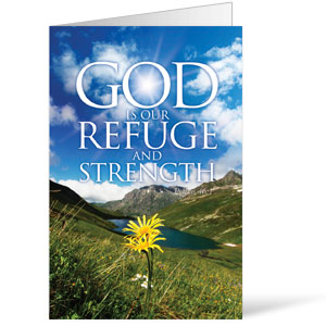 Refuge and Strength  8.5 x 11 Bulletins 8.5 x 11