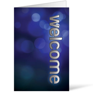 Sparkle Welcome Bulletins 8.5 x 11