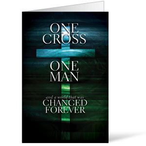 One Cross 8.5 x 11 Bulletins 8.5 x 11